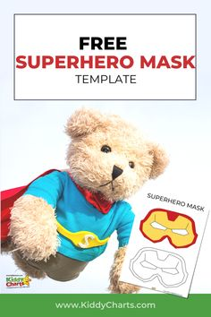 Are you looking for some free superhero mask templates? Check out our free printable superhero mask templates! Click through to post and make sure you Pin this for later! #printables #superhero #superheroplay #superheromask #freeprintables #kidsactivities #activities #kidsplay #superheroes #freebiesforkids