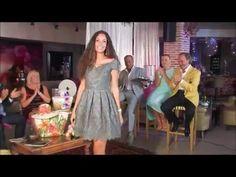 Ariana Soffici - Desfile Alta Costura - TV Show Marbella