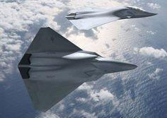 O F/A-XX prevê substituir os caças Super Hornets a partir de 2030. (Foto: Boeing)
