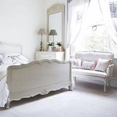 Casinha colorida: TOP 10: quartos em estilo cottage