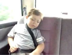 How to wake up a sleeping kid http://www.letssmiletoday.com/videos/9830-how-to-wake-up-a-sleeping-kid