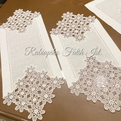Natural Linen Large Doily Crochet Beige Handmade Vintage Lace Table Runner Doily Tableware Centerpiece Tablecloth Gift for Mom Wedding gifts Crochet Doilies, Crochet Lace, Doily Patterns, Crochet Patterns, Lace Table Runners, Pattern Images, Linens And Lace, Natural Linen, Felt Flowers