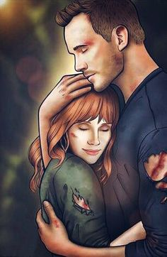 TheWindAndSea - Jurassic World Claire Dearing & Owen Grady Jurassic World Cast, Jurassic World Claire, Jurassic World 2015, Jurassic World Fallen Kingdom, Peter Quill, World Movies, Night At The Museum, The Lost World, Falling Kingdoms