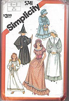 Petite Simplicity Costumes #5741 Sz 6-8 (Image1)