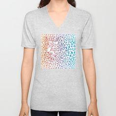 Lynx canadensis background Unisex V-Neck by vladimirceresnak V Neck T Shirt, Unisex, Mens Tops, Stuff To Buy, Women, Fashion, Moda, Fashion Styles, Fashion Illustrations