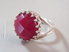 Vintage ruby ring.