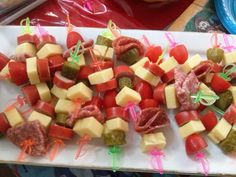 Pirate themed nibbles