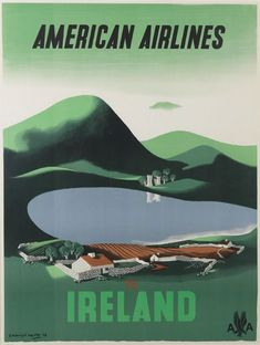 Ireland with American Airlines, 1960s