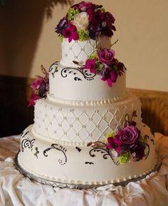 Amazing Floral Wedding Cake Design