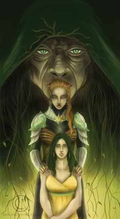Queens of Summer by ~Armesan on deviantART  (inspired by Summer Knight by Jim Butcher)