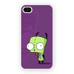Invader Zim Hard Cover Case iPhone WORLDWIDE SHIPPING!!