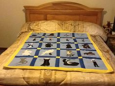 Harry Potter lap Quilt/Throw