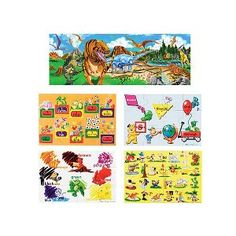 Melissa and Doug floor puzzles