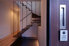設計事務所アーキプレイス 桜並木と暮らす家 玄関