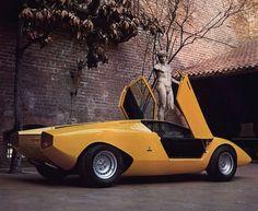 Lamborghini 1974 concept. via hotvvheels