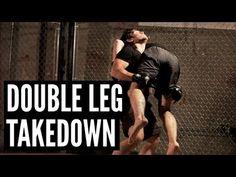 "Double Leg Takedown   Andrew ""Squid"" Montañez   mmasurge.com #mma"