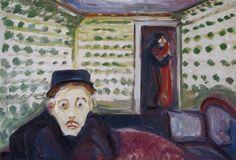Jealousy.1907 by Edvard Munch