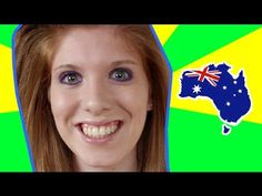 How To Do An Australian Accent (with slang) |  www.antizensur.de | www.the-rogalist.com    This girl makes me laugh.. have to watch this Australian Slang, Australian Accent, Australian Actors, English Study, South Australia, Tasmania, Brisbane, Ielts, Don't Judge