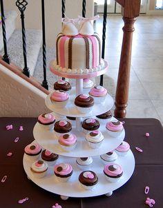 babyshower baby shower cupcake tower