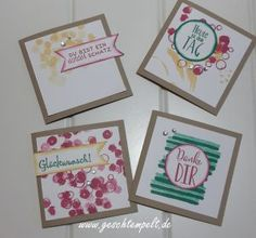 STampin up, Designer Grußelemente, Playful Backgrounds, Erfreuliche Ereignisse