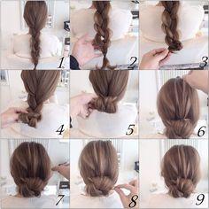 Braid up hair