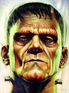 Universal Monsters by Jason Edmiston   Part of the 'The Universal Monsters Art Show' at the Mondo Gallery