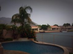 rainy day in Az