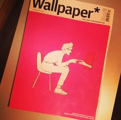 Wallpaper* magazine's February 2014 issue has a limited edition Her-themed cover by Geoff McFetridge and Spike Jonze!