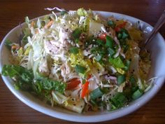 Houston's Asian Chopped Salad.