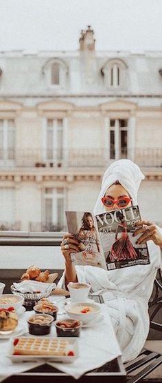 Lounging in Paris