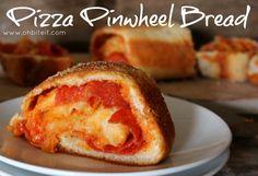~Pizza Pinwheel Bread! | Oh Bite It