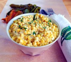 Hatch Chile Creamed Corn..  #TheTexasFoodNetwork #chefshellp  share your recipes with us on Facebook at The Texas Food Network