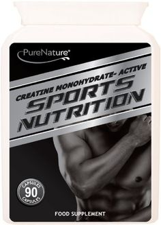 Creatine Monohydrate Active Sports Nutrition 100% Pure Pharmaceutical Grade 90 Vegetarian Capsules FREE UK Delivery - http://vitamins-minerals-supplements.co.uk/product/creatine-monohydrate-active-sports-nutrition-100-pure-pharmaceutical-grade-90-vegetarian-capsules-free-uk-delivery/