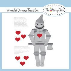 Printable Party Game  Pin the heart on the tin by ThePartyChick, $2.00
