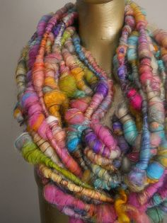 Party Mix Super Fluff Yarn by designsbyamber on Etsy