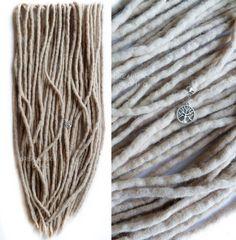 Redoute de laine DREADLOCKS / ensemble complet par DomiDreadmaker