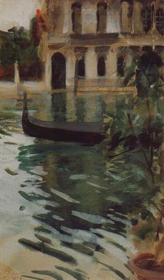 Venice ~ Anders Zorn ~ (Swedish 1860–1920)