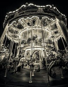 The night circus carousel