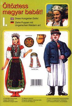 könyvjelzők magyar népviselet - Google keresés Puppets, Folk Art, Baseball Cards, Google, Mandala, Easter, Style, Fashion, Swag
