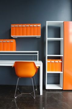 Kelly Chair/file Shelf/vertical Cube With Panel Door from Aero Designs