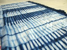 Shibori work by students at the Workshop, / Brittany B via Flickr