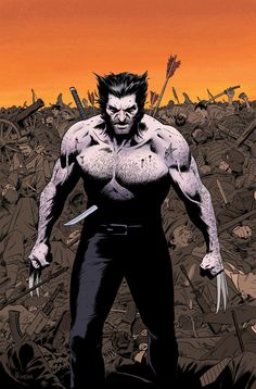 Wolverine MAX #1 Variant by Paolo Rivera
