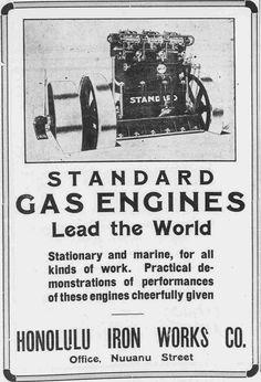 https://flic.kr/p/qRjuvD | Standard Gas Engine | Standard Gas Engines lead the world. Honolulu Iron Works Co.  Standard Gas Engine The Pacific commercial advertiser, November 7, 1909, Sunday Edition, Page 19 chroniclingamerica.loc.gov/lccn/sn85047084/1909-11-07/ed-...  Read about Hawaii's first automobile: hdnpblog.wordpress.com/historical-articles/hawaiis-first-...  Hawaii Digital Newspaper Project hdnpblog.wordpress.com/