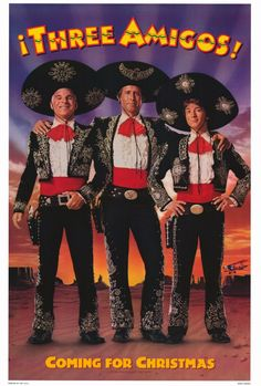 "FULL MOVIE! ""THREE AMIGOS "" 