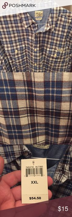 Lucky Brand Button Down NWT! Long sleeve and never worn! All tags included. Lucky Brand Shirts Casual Button Down Shirts