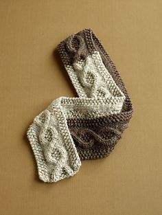 Ravelry: Covetable Cable Scarf pattern by Lion Brand Yarn