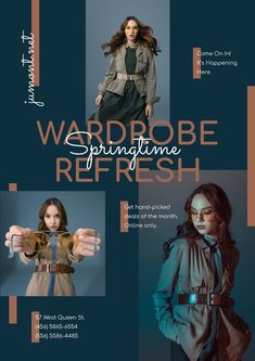 Woman in Stylish Outfit with accessories — Create a Design Online Posters, Stylish Outfits, Ecommerce, Women Accessories, Woman, Create, Inspiration, Design, Fashion