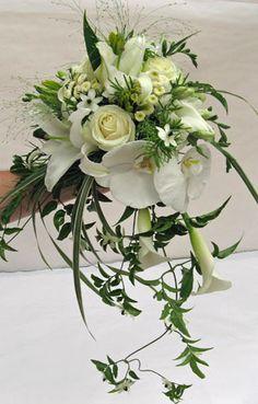 bouquet d'orchidées mariage rennes