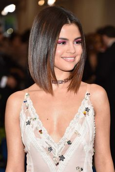 Image result for selena gomez met gala hair 2017