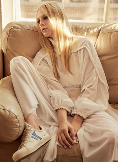 Photography: David Roemer @Atelier Management Styled by: Jayne Pickering Hair: Keith Carpenter @The Wall Group Makeup: Christine Cherbonnier @The Wall Group Manicure: Jini Kim Model: Emilie Evander @Storm